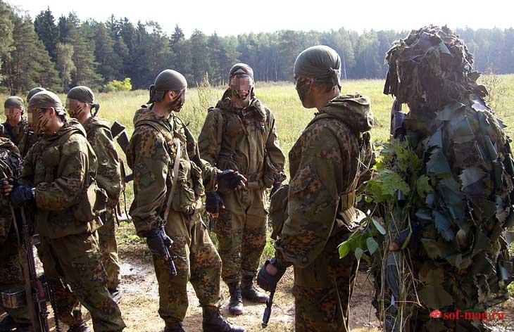 Бойцы спецназа ГРУ