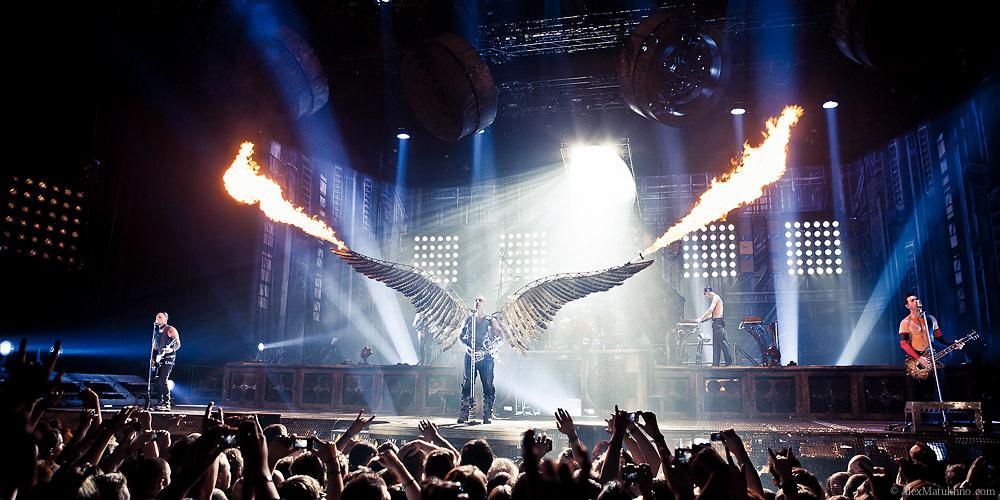 Концерт Rammstein в России