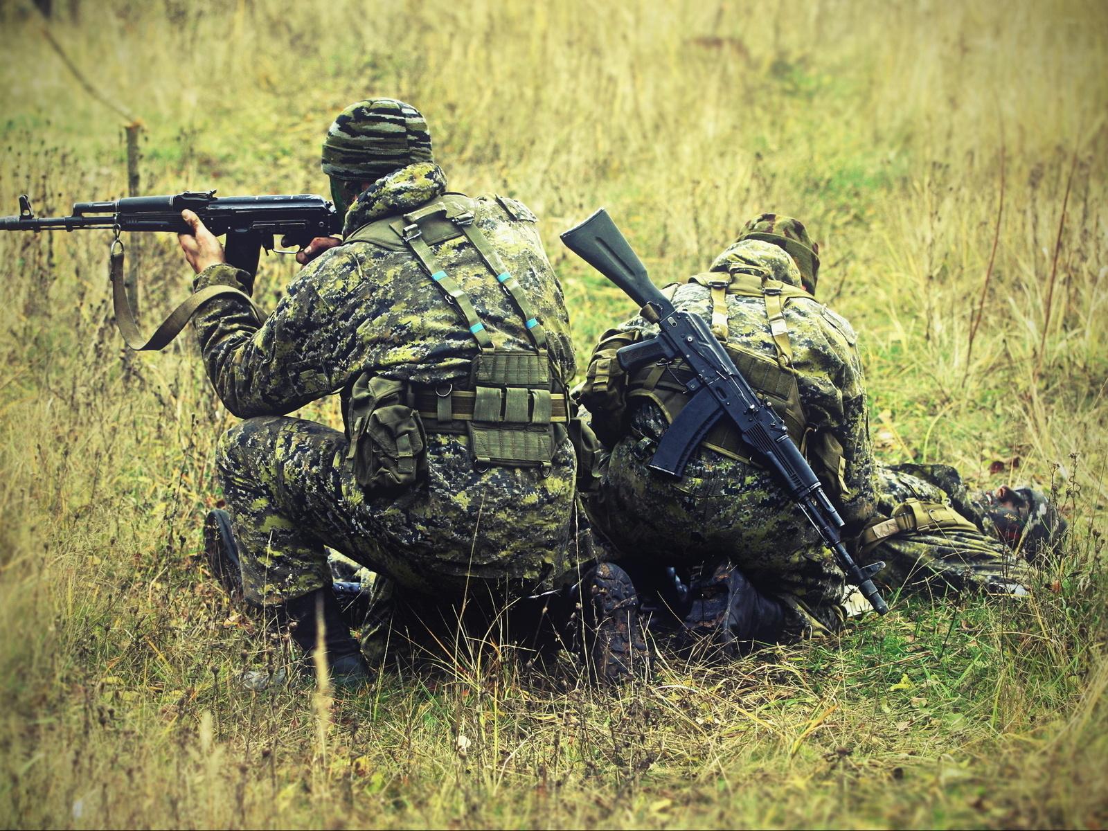 Под флагом разведки служит армейская элита