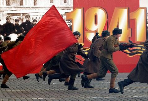Вперед под флагом СССР