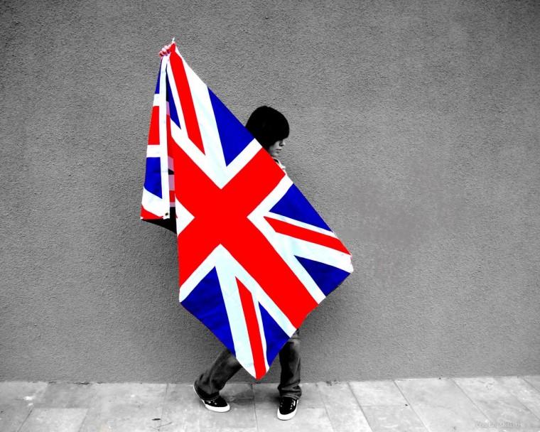 Стильный британский юнион джек