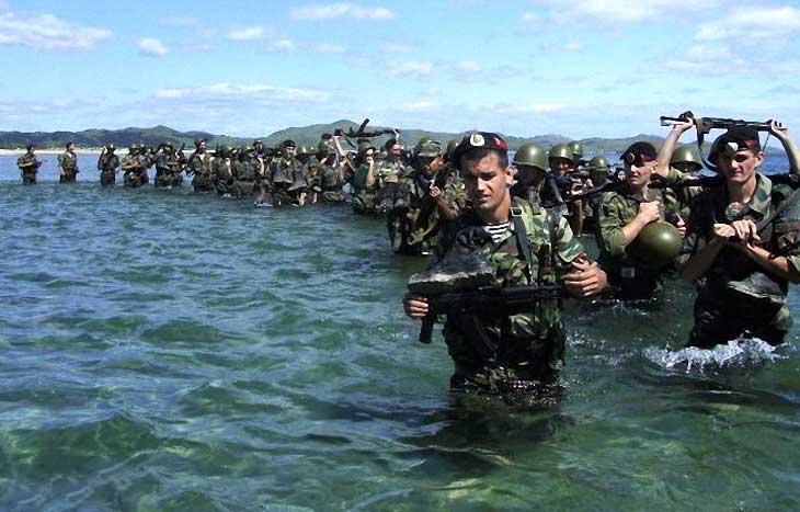 День морской пехоты в России