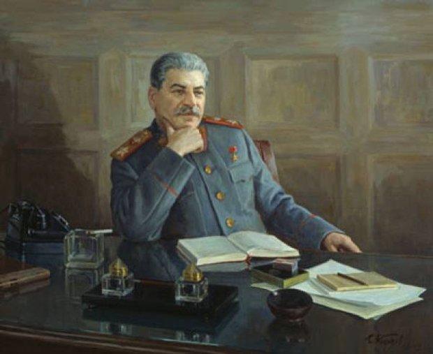 За Сталина под советским флагом шли умирать в бою