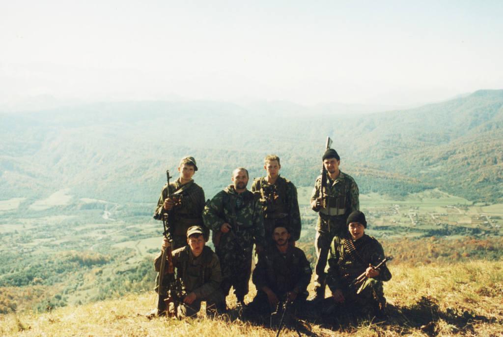 герои пограничники чечни фото материал