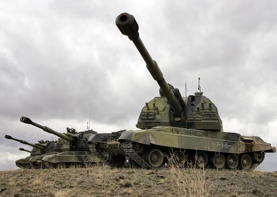 современной россии фото артиллерии