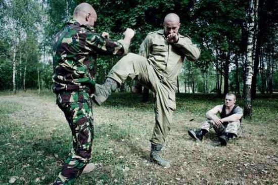 тренировка спецназа видео