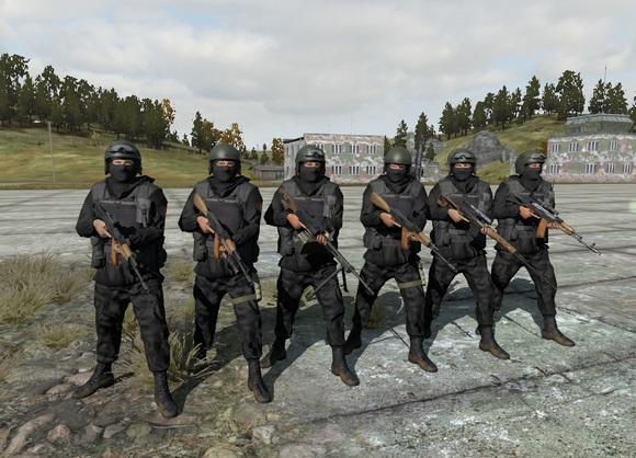 Военная форма спецназ картинки
